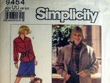 Simplicity 9454 A