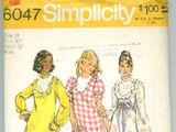 Simplicity 6047