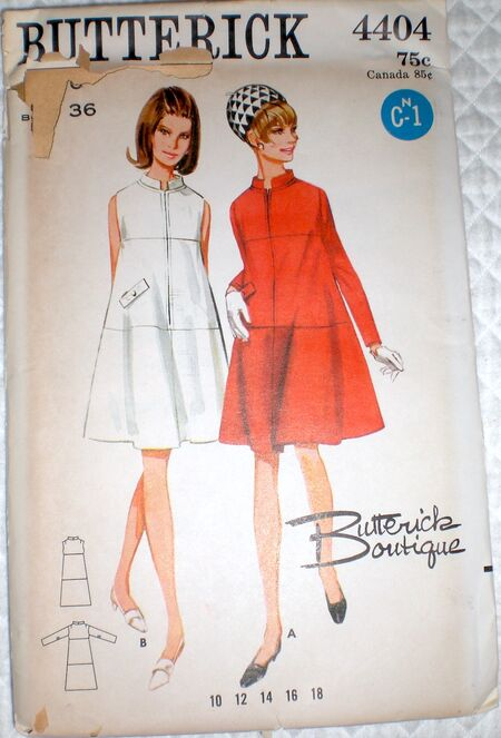 Butterick 4404 A image