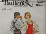 Butterick 3322 C