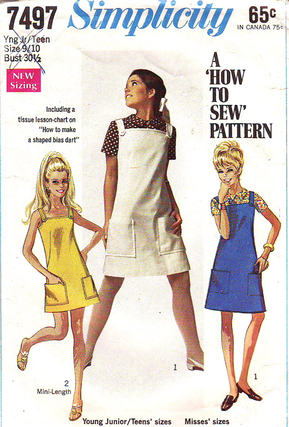 Simplicity 7497 | Vintage Sewing Patterns | FANDOM powered by Wikia