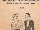 Australian Women's Weekly Free Pattern 4/8/34