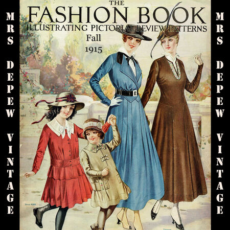 1915 Fall Pictorial Review Patterns