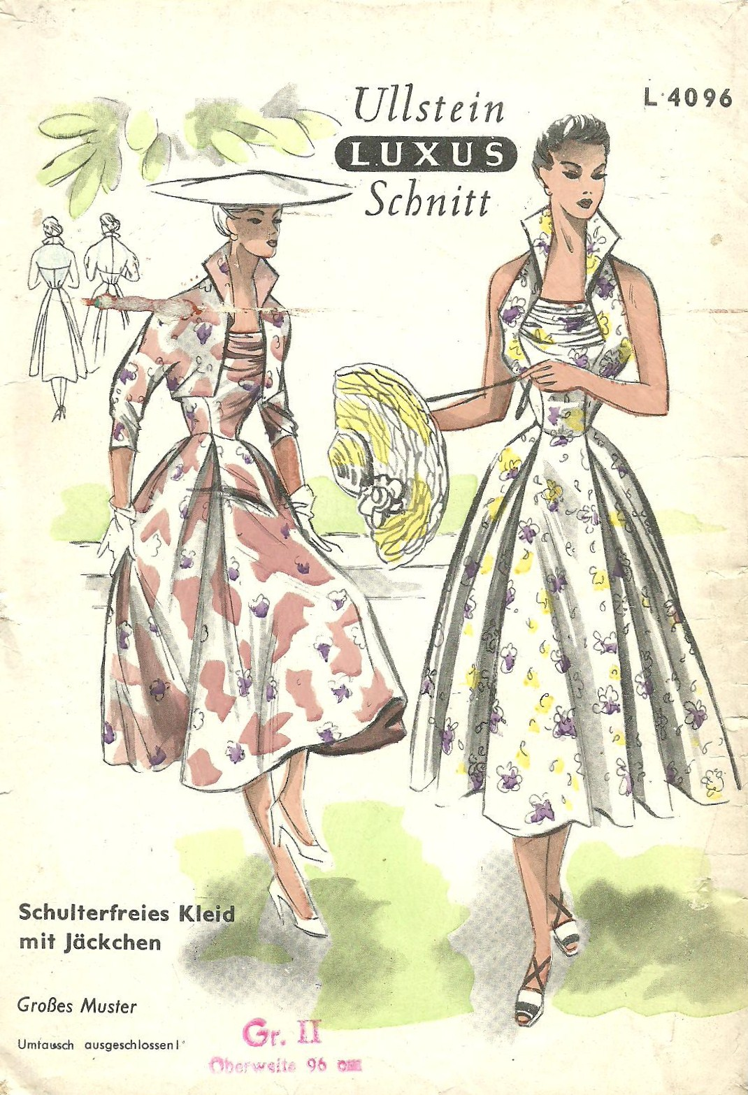 Ullstein Schnitt L4096 | Vintage Sewing Patterns | FANDOM powered by ...