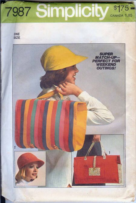 W-7987S 1977 HatBagUncut