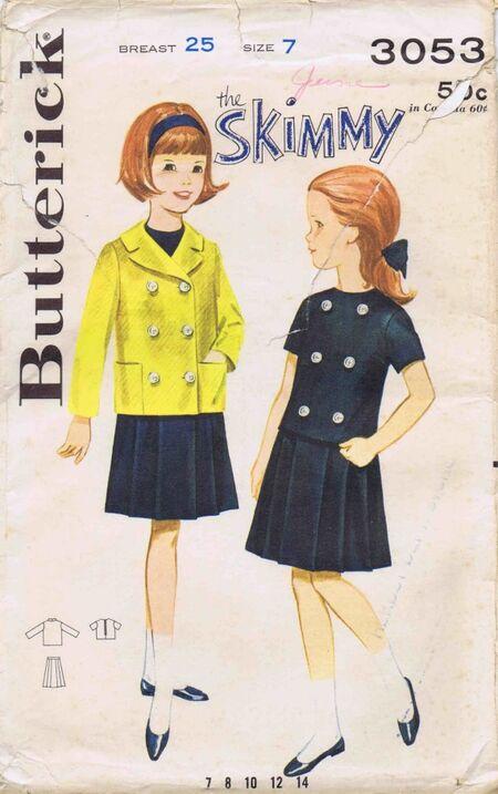 Butterick 1964 3053