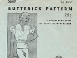 Butterick 5669 B
