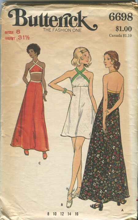 Butterick 6698 Front
