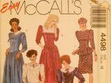 McCall's 4498 A