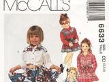 McCall's 6633 B
