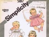 Simplicity 5817 B