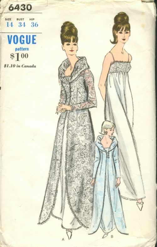 Vogue 6430 Vintage Sewing Patterns Fandom Powered By Wikia