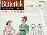 Butterick 6750 C