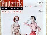 Butterick 6563