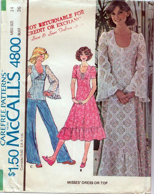 McCall's 4800