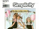 Simplicity 9221 B
