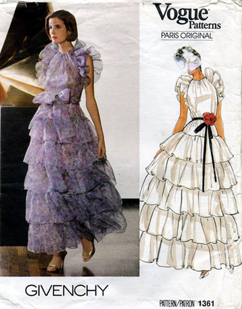 Vogue 1361 Vintage Sewing Patterns Fandom Powered By Wikia