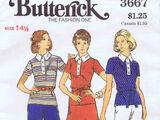 Butterick 3667 B