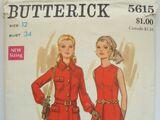 Butterick 5615 B