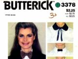 Butterick 3378 A