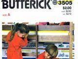 Butterick 3505 A