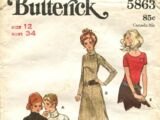 Butterick 5863
