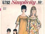 Simplicity 6792