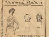 Butterick 2715 A