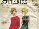 Butterick 4190 B