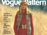 Vogue International Pattern Book August/September 1971