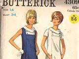 Butterick 4309