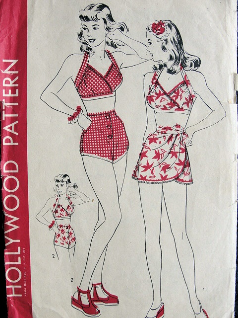 Hollywood 1341 | Vintage Sewing Patterns | FANDOM powered by Wikia