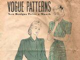 Vogue Patterns March 1940