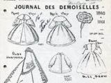 Paris Fashions Journal Des Demoiselles 1860 & 1861