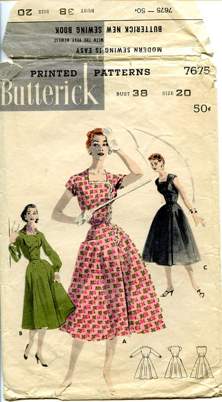 Butterick 7675 front