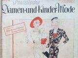 Praktische Damen- und Kinder-Mode No. 6 1935