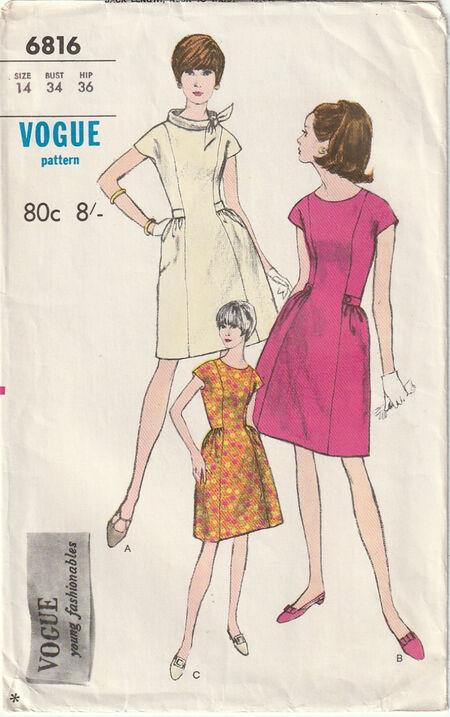 Pattern - Vogue 6816 03
