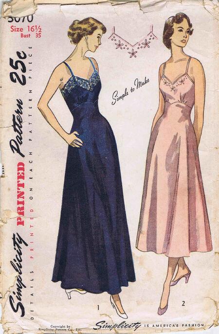 Simplicity 1949 3070