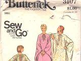 Butterick 3107 A