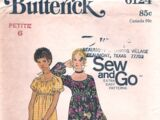 Butterick 6124 A