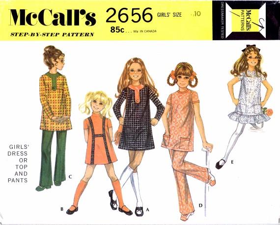 McCalls 1970 2656