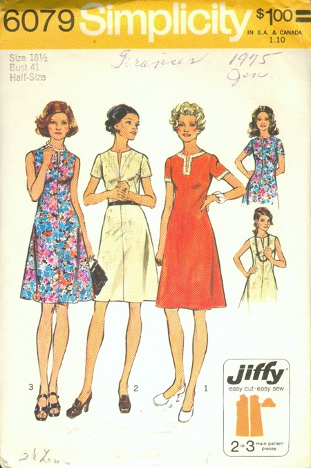 Simplicity 6079 | Vintage Sewing Patterns | FANDOM powered by Wikia