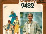 Simplicity 9482 A