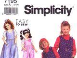 Simplicity 7195 B