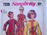 Simplicity 7018 A
