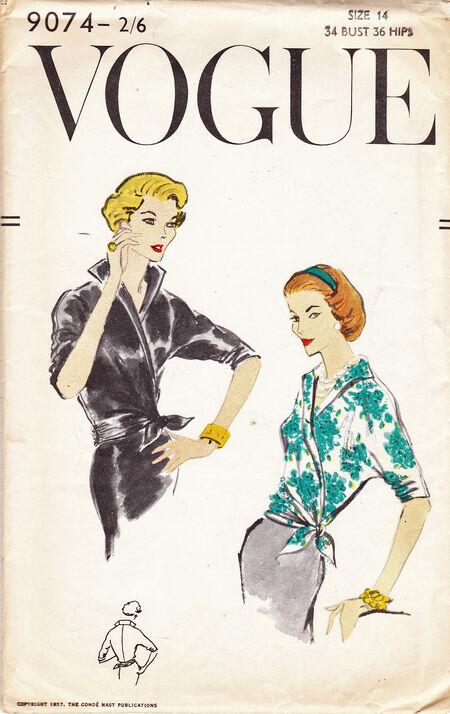 Vogue9074front