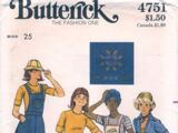 Butterick 4751 A