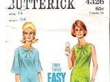 Butterick 4326 B