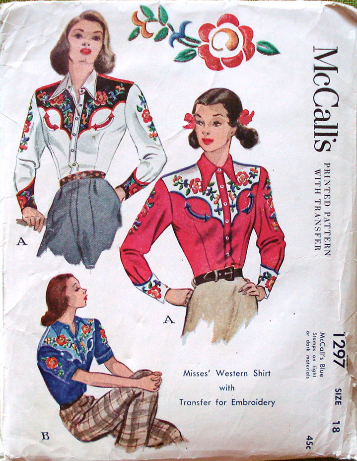 Mccalls 1297 Vintage Sewing Patterns Fandom Powered By Wikia
