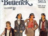 Butterick 5615 A